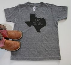 texas forever kids tee by SweetTeesShop on Etsy