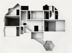 Thinking images - lookingdownongraphiclines: Your House by Olafur...