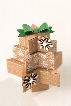 Stack a few of the stars together to make some adorable Christmas trees that would be perfect for your mantle.