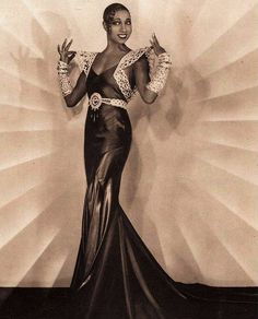 "Josephine Baker - the ""Black Pearl"", ""Bronze Venus"" and ""Créole Goddess"""