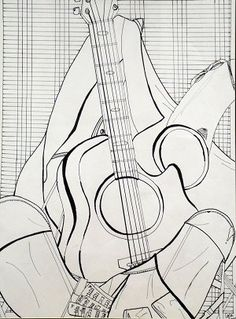 musical still life...plus handouts to go with elements of line art