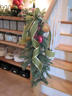 use for old christmas tree....Sew Many Ways...: Christmas Home Tour 2010...