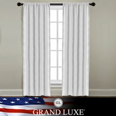 @Overstock.com - Veratex Grand Luxe Pearl Linen Gotham Rod Pocket Panel - Add understated style to your home's windows with this elegant curtain panel pair. Made from 100-percent linen, these unlined pearl-colored drapes will look fabulous in your living or dining rooms, or any room where you want a touch of low-key style.  http://www.overstock.com/Home-Garden/Veratex-Grand-Luxe-Pearl-Linen-Gotham-Rod-Pocket-Panel/7901364/product.html?CID=214117 $35.99