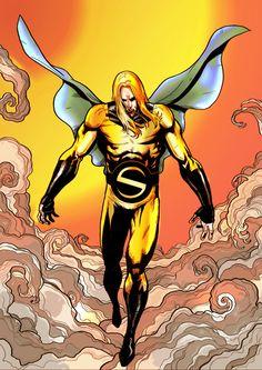sentry marvel avengers by namorsubmariner Marvel Man, Marvel Comics, Ms Marvel, Man Thing Marvel, Lego Marvel, Marvel Heroes, Marvel Characters, The Avengers, Avengers Universe