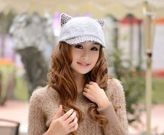 Cat Ears Winter Cap