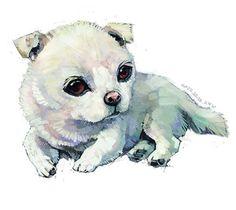 可爱的小动物们~雪娃娃的童畫