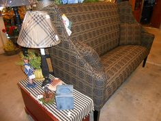 Upholstered Furniture can be purchased from The Old Mercantile in Clarksville Tn. Call 931-552-0910  or  Like and Follow on Facebook.
