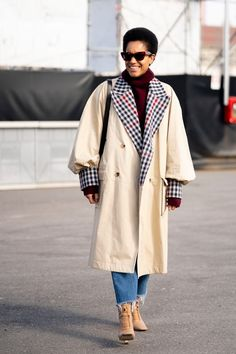 Milan Street Style Influencer Fall 2020 Looks Top Street Style, Milan Fashion Week Street Style, Autumn Street Style, Cool Street Fashion, Street Chic, Everyday Fashion, Fitness Fashion, Work Wear, Fashion Outfits