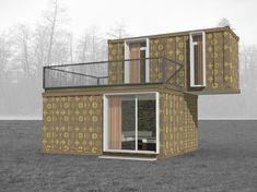 проект дом из бытовок