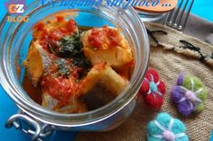 Merluzzi in guazzetto in vasocottura- ricetta dietetica-