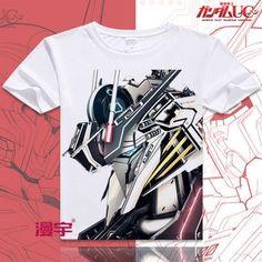 Gundam Short Sleeve Anime T-Shirt V18
