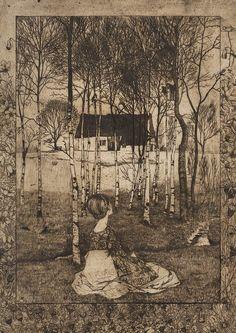 design-is-fine: Heinrich Vogeler, Jaro, 1896. Worpswede, Germany. Via patriksimon.cz