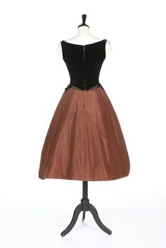 Cocktail dress by Charles James for Samuel Winston, mid-1950′s