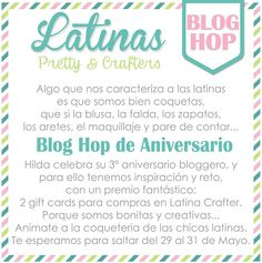 Latinas Arts and Crafts: Blog Hop Pretty Crafters