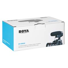 The BOYA BY-VM600 is a new designed directional shotgun microphone which can maximizes the sound quality.