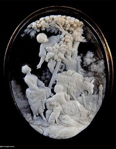 Beautifully carved cameo