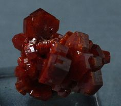 Large Vanadinite Crystal Cluster Morocco.  by BandLMinerals