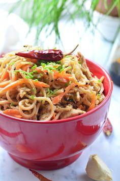 Home - Kifőztük Asian Recipes, Ethnic Recipes, Pasta Noodles, Japchae, Paleo, Favorite Recipes, Meals, Cooking, Food