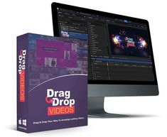 With Drag and Drop Videos people can create almost any type of video, without an expensive software like After Effects, without prior video editing knowledge, and literally within just a few minutes. Marketing Software, Marketing Tools, Internet Marketing, Online Marketing, Video Editing, Templates, Type, Videos, Create