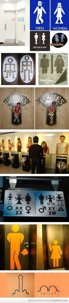 Funny Toilet Signs Part 2