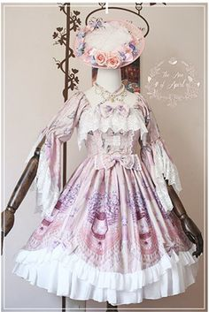 --> #LolitaUpdate: April Ann [-✿♡-Vanessa-✿♡-] Series --> SAVE 22USD during the pre-order --> Learn More:http://www.my-lolita-dress.com/april-ann-vanessa-classic-lolita-hime-sleeves-op-dress-with-back-open-design-apa-3