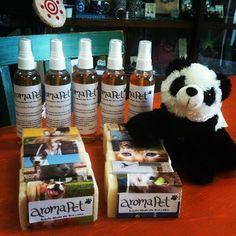 Ya llegaron los productos #aromaPET a #LaChiwinha!!! A #Surya le encantaron!  #Padgram