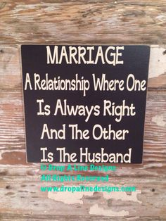 A personal favorite from my Etsy shop https://www.etsy.com/listing/197794389/marriage-a-relationship-where-one-is