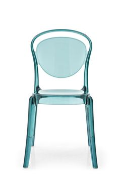 A mod molded plastic chair by verner panton small apartment living modern - Chaise en polycarbonate ...
