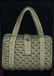 Paperback Totes - free crochet pattern, the page for the pattern does load but it takes a few seconds so be patient. :)