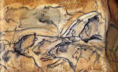 Leones de la cueva de Chauvet