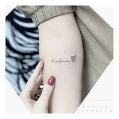 Finger Tattoos Words, Word Tattoos, Mini Tattoos, Tatoos, H Tattoo, Tattoo For Son, Tattoos For Daughters, Owl Tattoo Small, Cute Small Tattoos