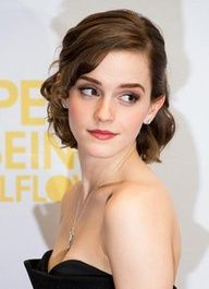 Pretty Curly wavy formal hairstyles for short hair