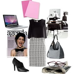 """""""BACK TO THE OFFICE Part I"""" by rinascimentomadeinitaly on Polyvore"""