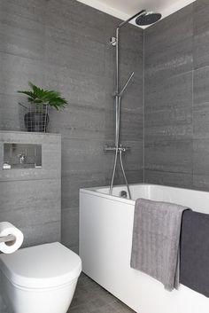 Tyylikäs pieni kylpyhuone - Etuovi.com Ideat & vinkit