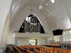 Church window. opportunities church. Architecture. Juliana Familia kerk. white church.