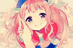 pink is my favorite anime hair color