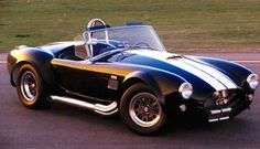 Stripes makes everything go faster, right. The 427 1965 Cobra. piude