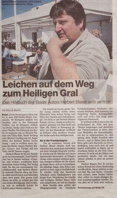 Cratalis / Autorenblog von Herbert Blaser: Herbert Blaser: Presse BAZ