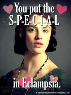 Valentine Downton humor, I laughed