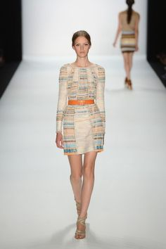 2012 Rena Lange Runway Show @ Mercedes-Benz Fashion Week