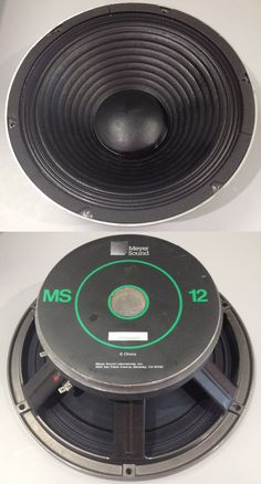 Meyer Sound Woofer for Horn Speakers, Sound Speaker, Mixers, Car Audio, The Unit