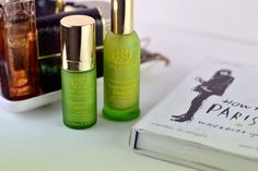 Are you a fan of natural skincare? Well, today is your lucky day as I have discovered an amazing skincare brand. Tata Harper. I mean look at those green bottles, they'll look so chic in your bathroom.