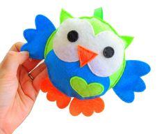 Baby Owl Plush Toy,  Eco friendly children stuffed owl Plush , decorative OWL Toy A639 Free Shipping