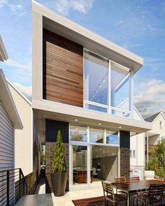 Super Contemporary Home 'RoscO2' Coming to Roscoe Village - That's Rather Awesome - Curbed Chicago