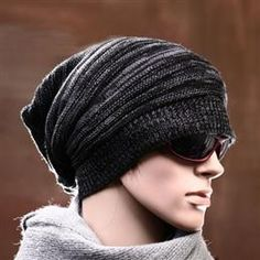 14cf5f4e85d Men Cotton Knitted Beanie Hat - DinoDirect.com