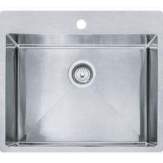 Franke Vector Sink : vector hfs2522 1 polished satin sinks more satin sinks beach house ...