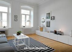 Гостиные в скандинавском стиле