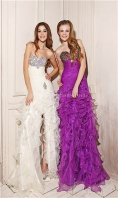 Your bff and you could have the same dress just different colors!!! Awesome idea