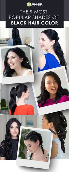 From natural looking blacks to reflective blues there is a shade for your every need. If you are looking to transform your hair, find some inspiration with our 9 most popular shades of black hair color.