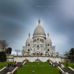 Photograph Basilique du Sacré Coeur de Montmartre, France by Bentom Wyemji on 500px